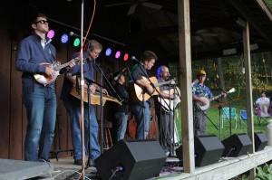 Me w:Clay Hess Band